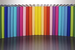 Reading Colors Your Life! V2 Stock Photo