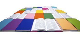 Reading Colors Your Life! V7 Stock Photography