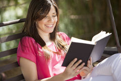 Reading is cool Royalty Free Stock Photography