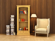 Reading corner Stock Images