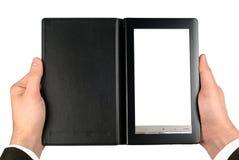 Reading E-Book Stock Photo