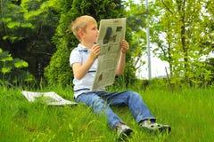 Reading educates Stock Photography