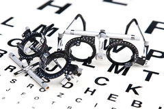 Reading eyeglasses Royalty Free Stock Image