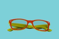 Reading eyeglasses. In retro style Stock Photos