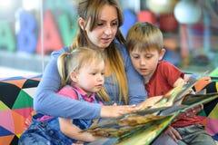 Reading fairy tales Stock Photo