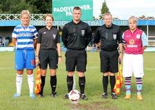 Reading FC Women v Aston Villa Ladies. FA WSL (Women Super League) match Stock Photos