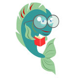 Reading fish Royalty Free Stock Images