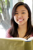 Reading Is Fun For Teens Stock Photography