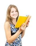 Reading girl Royalty Free Stock Image