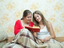 Reading girls Stock Photography
