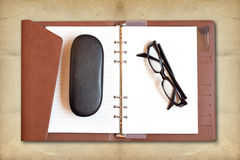 Reading glasses Royalty Free Stock Images