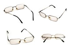Reading glasses. For short-sighted Stock Images