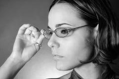 Reading glasses Royalty Free Stock Image