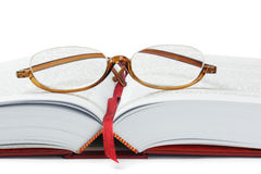 Reading Glasses And Book Stock Images