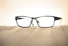 Reading Glasses Business Style Royalty Free Stock Photos