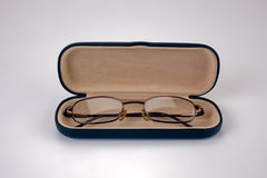 Reading Glasses in Case Stock Photography