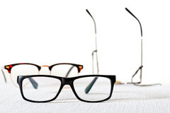 Reading glasses Stock Photos