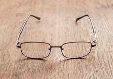 Reading Glasses. Shallow depth of field Royalty Free Stock Images