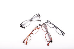 Reading Glasses on White Stock Photography