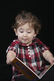 Reading a good book Stock Image