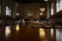 Reading hall Public Library New York Stock Photos