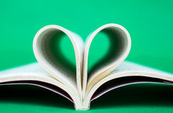 Reading by heart Stock Photography