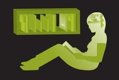 Reading , Imagination. Reading ,  Imagination . Illustrator 8 / EPS Stock Photography