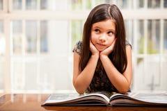 Reading improves imagination Stock Photo