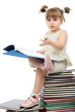Reading kid Stock Images