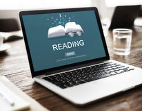 Reading Knowledge Intelligence Vision Solution Concept Royalty Free Stock Photography