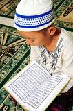 Reading Koran Royalty Free Stock Image