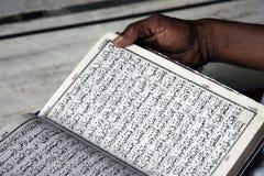 Reading Koran Stock Image