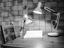 Reading lamp Stock Images