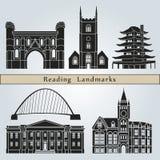 Reading Landmarks Royalty Free Stock Images