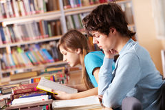 Reading lesson Royalty Free Stock Images
