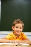At reading lesson Royalty Free Stock Image