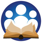 Reading Logo Royalty Free Stock Photo