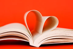 Reading with love Royalty Free Stock Photography