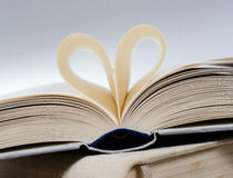 Reading love Stock Image