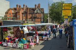 Reading Market, Berkshire Stock Image