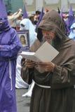 Reading monk royalty free stock photos