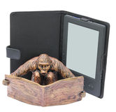 Reading monkey Royalty Free Stock Photo