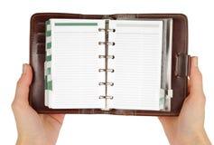 Reading Notebook Stock Photos
