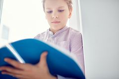 Reading notes Royalty Free Stock Images