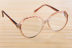 Reading old glasses Stock Image