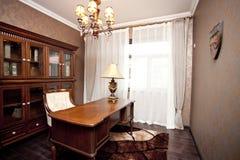 Reading room. A luxury reading room Stock Photos