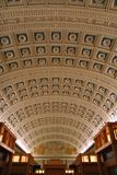 Reading Room in The Library of Congress Stock Photo