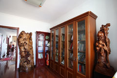 Reading room in new home Royalty Free Stock Images