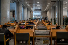 Reading room Stock Image