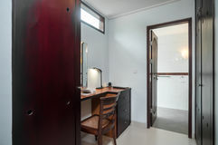Reading room villa Stock Image